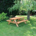 Anchor Fast Somerset 1.8 A-Frame Picnic Bench