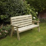 Dawlish 2 Seater Bench 9371010