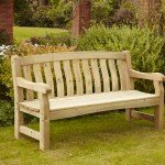Devon Deluxe 3 Seater Bench 9371019