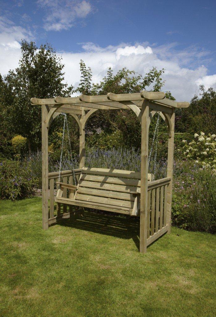 Woodshaw Appleton Swing Arbour Simply Wood