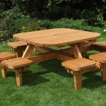 Anchor Fast Somerset Whopper Square Picnic Bench