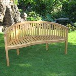 Oak Banana Bench