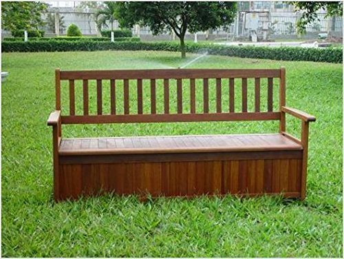 3 Seater Storage Bench Simply Wood