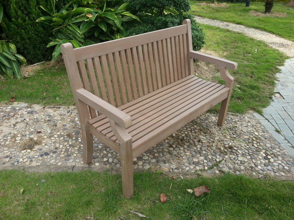 Zero Mainentance 2 Seater Garden Bench Simply Wood