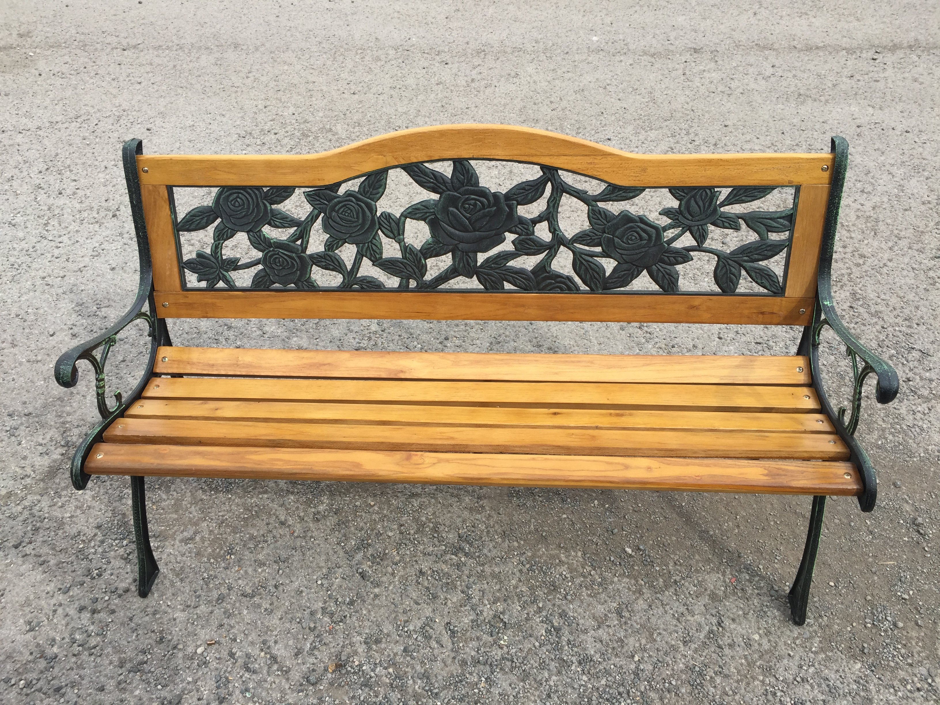 New Year Offer Oxford 2 Seater Garden Bench Simply Wood