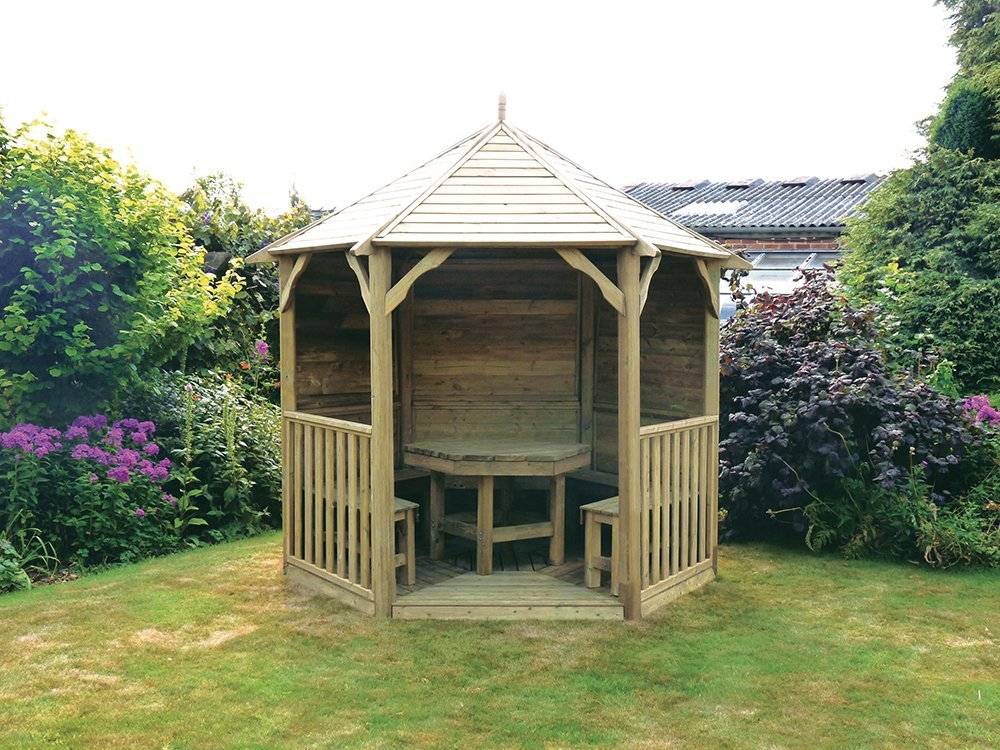 Anchor Fast Buckingham Panelled Gazebo With Table Amp 5