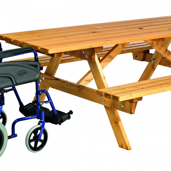 9500015 COTSWOLD 8 SEATER PLUS PICNIC BENCH