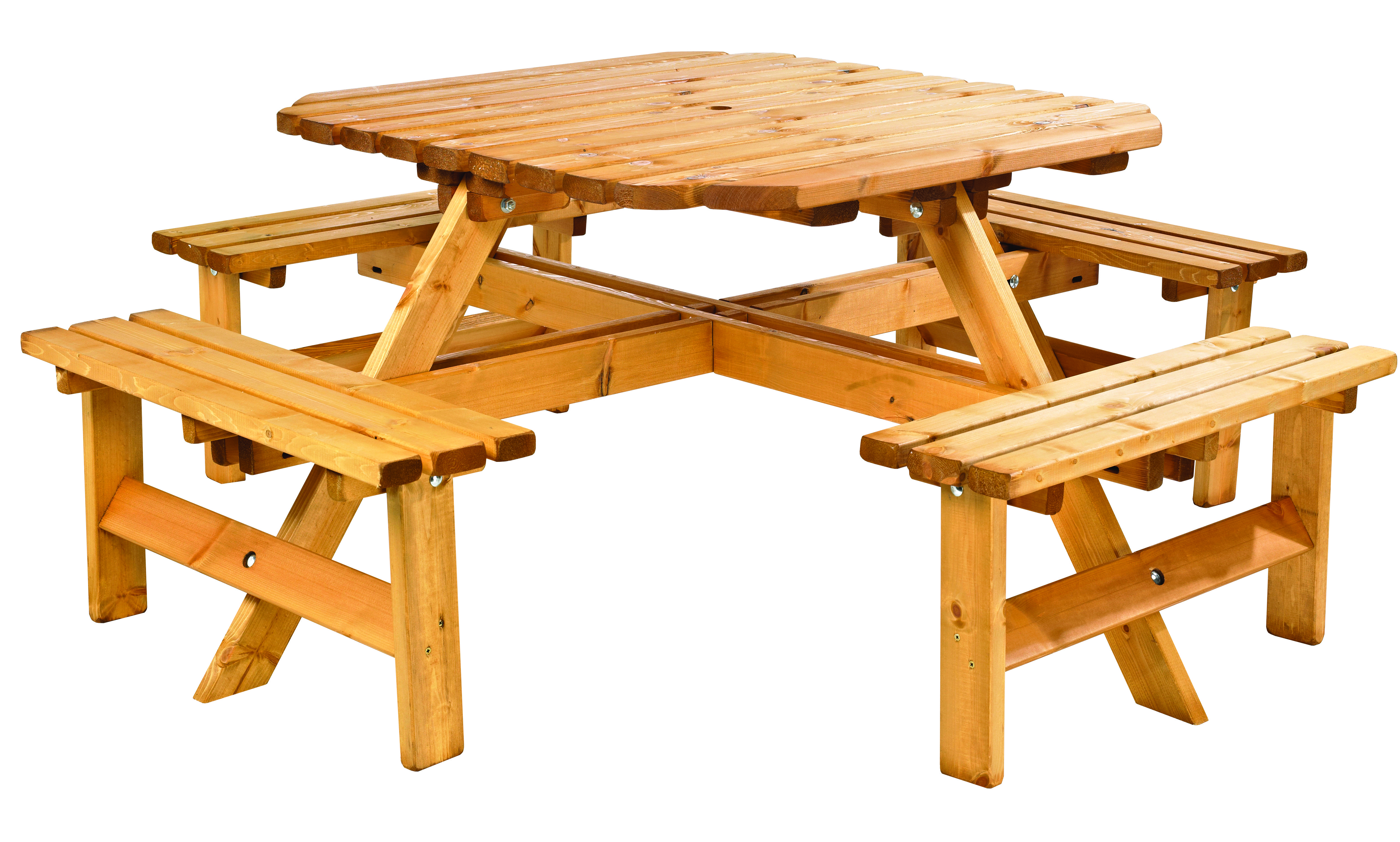 Round 8 Seater Picnic Table Round Table Ideas