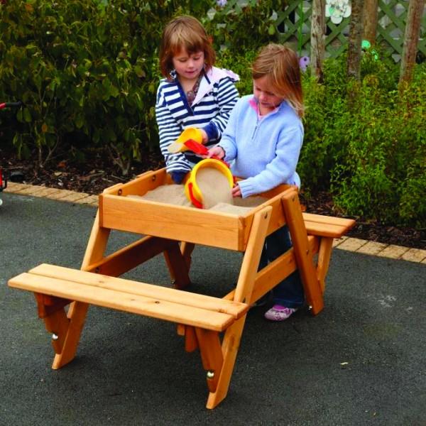 9500055 Infant Sand Pit-Bench