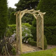 Anchor Fast Curved Lattice Arch
