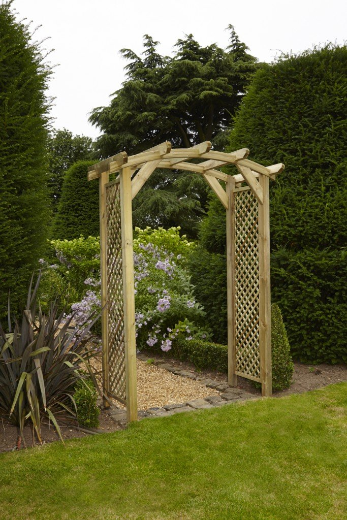 Woodshaw Dalton Curved Arch Simply Wood