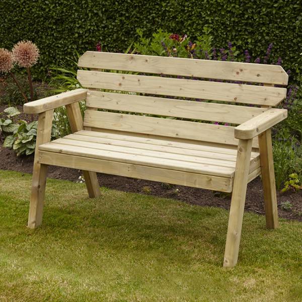 lovely wooden garden bench uk 12