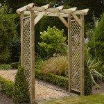 Anchor Fast Squared Lattice Arch