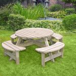 Anchor Fast Devon Round Picnic Bench