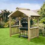 Anchor Fast Devon BBQ Wooden Shelter