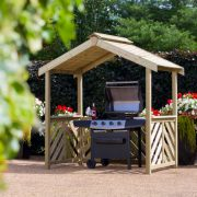 Anchor Fast Exmouth BBQ Wooden Shelter