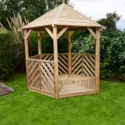 Anchor Fast Sandringham Gazebo - Open Side