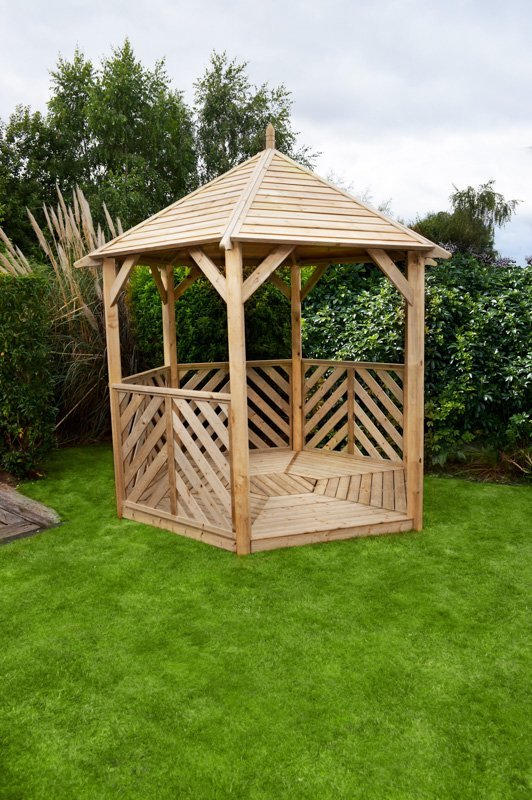 Anchor Fast Sandringham Gazebo With Table Amp 5 Benches