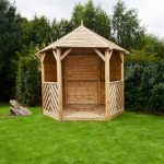 Anchor Fast Sandringham Gazebo - Solid Side