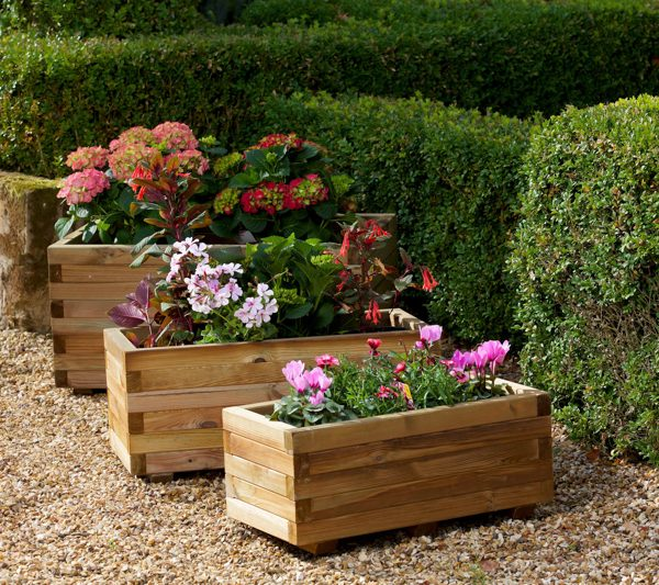 9600116 Hexham Rectangula Planters