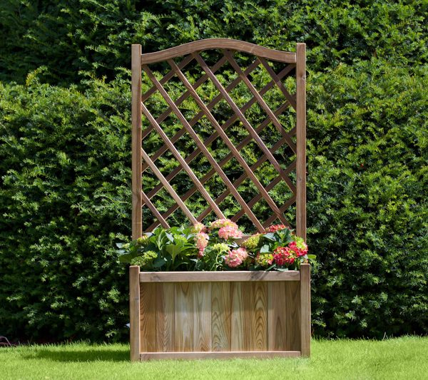 9600124 Melrose Planter with Trellis