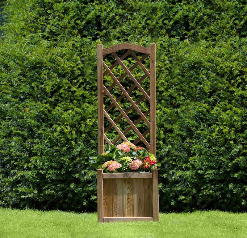 Melrose Planter With Trellis Simply Wood