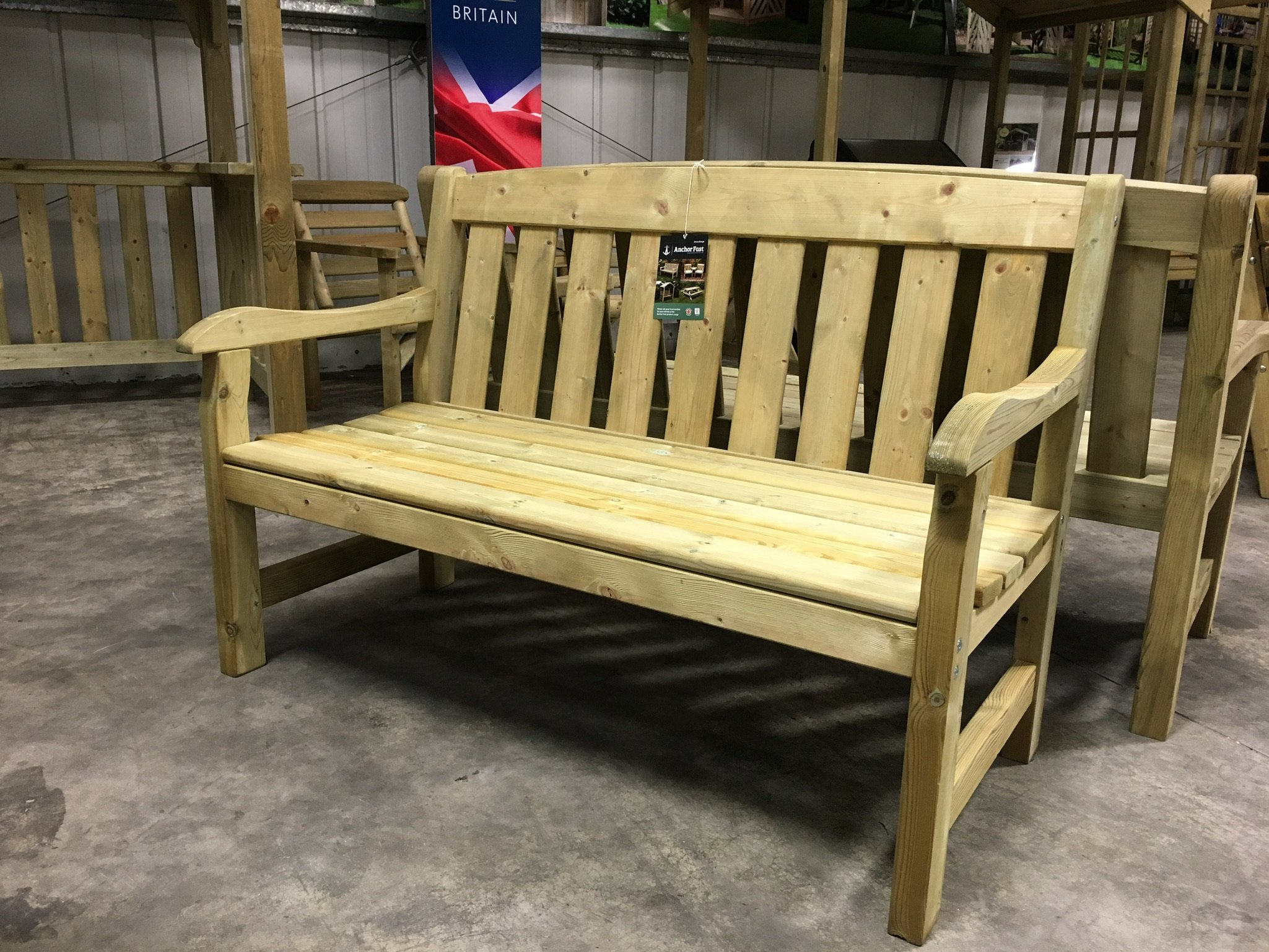 unique for garden wonderful fresh original forest products long bench sale wooden and somerlap benches