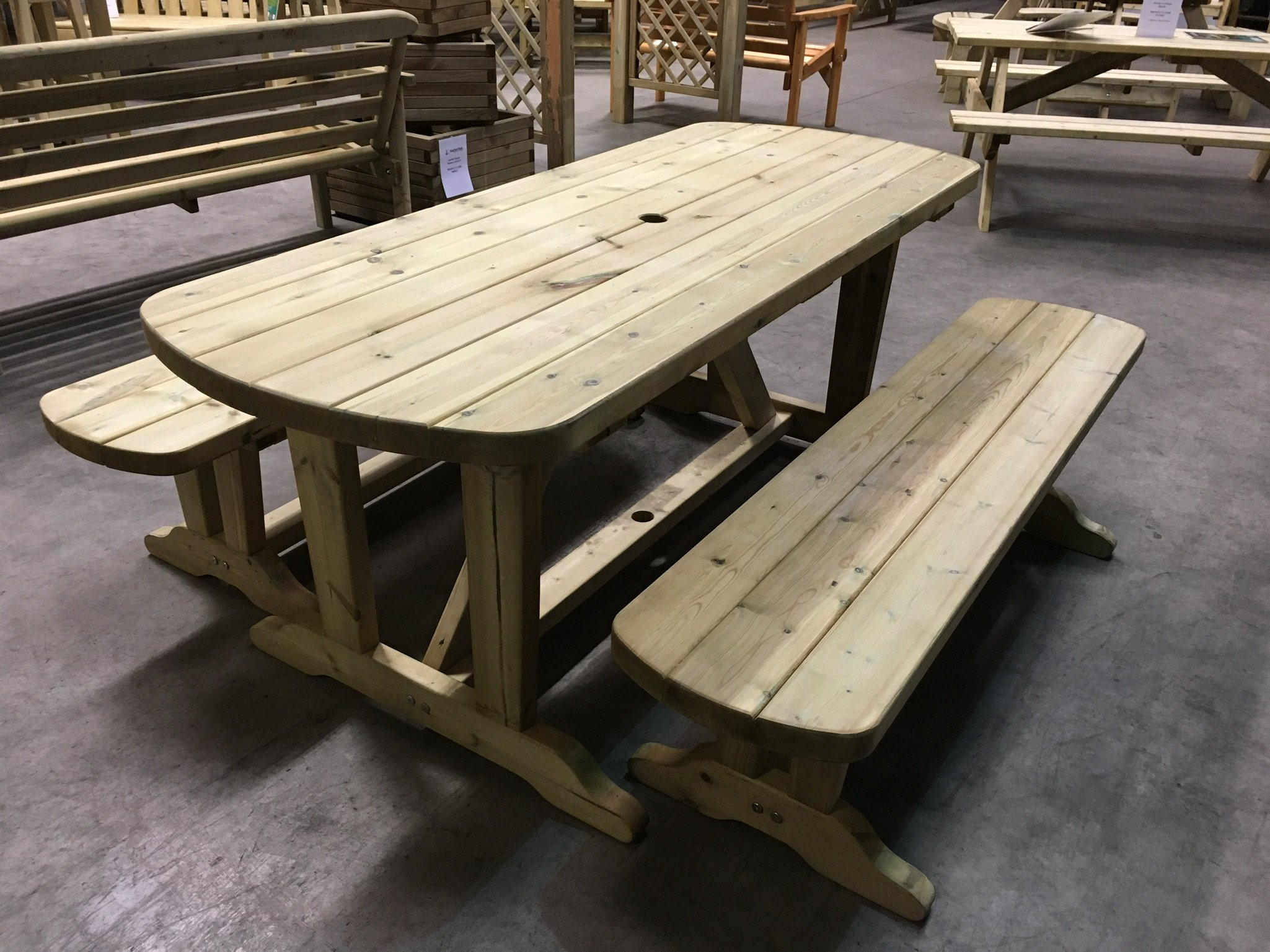 Anchor Fast Devon Dining Table Amp Bench Set Simply Wood