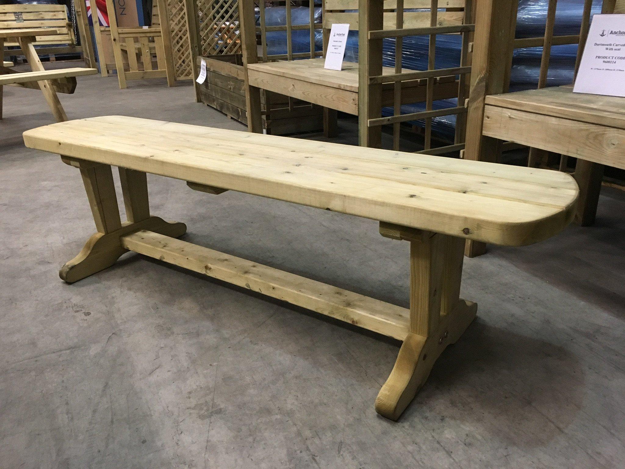 Anchor Fast Devon Form Bench Single Coffee Table