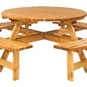 Anchor Fast Elegance Round Picnic Bench - HALF PRICE !!! SALE SALE SALE !!!
