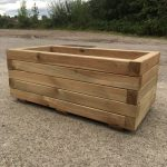 High Quality Tanalised Pressure Treated Trough Planter - LARGE - HALF PRICE SALE !!!