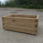 High Quality Tanalised Pressure Treated Trough Planter - EXTRA LARGE - HALF PRICE SALE !!!