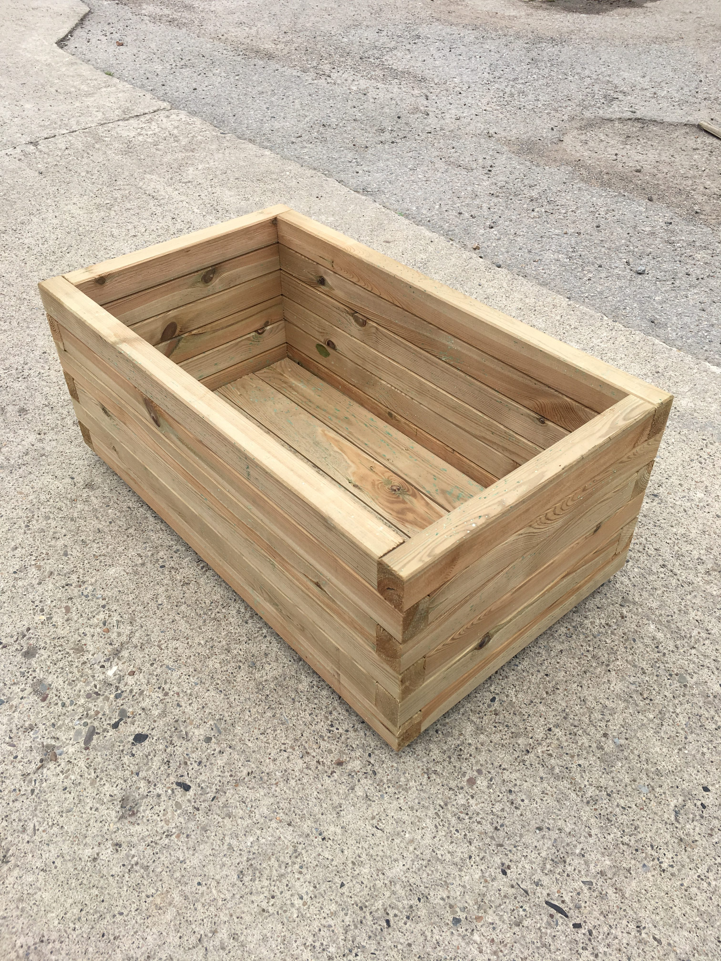 High Quality Tanalised Pressure Treated Trough Planter