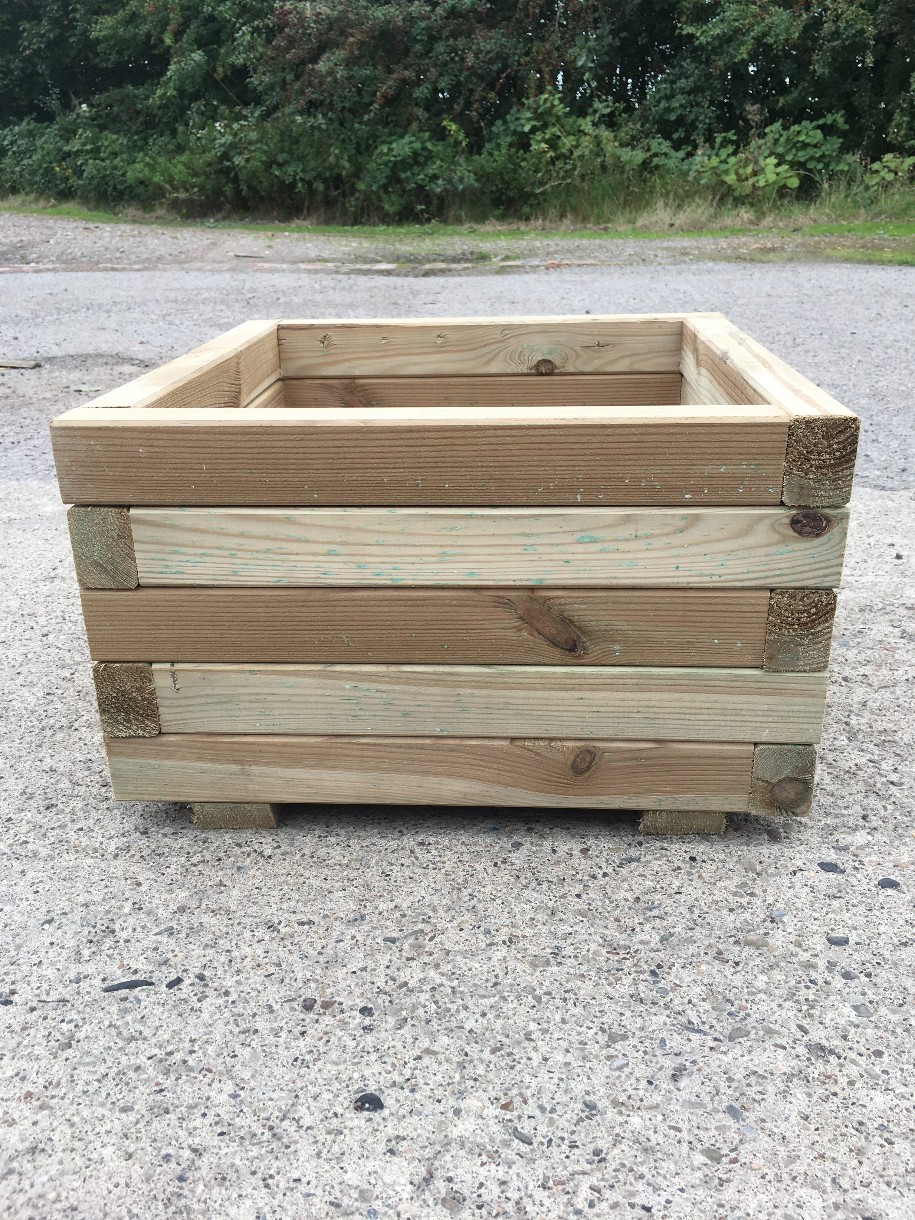 High Quality Tanalised Pressure Treated Square Planter