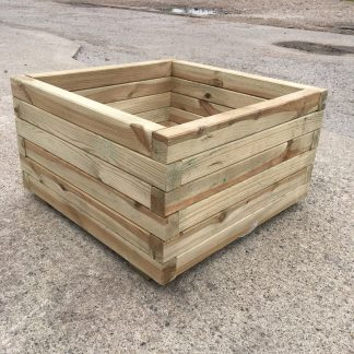 High Quality Tanalised Pressure Treated Square Planter - EXTRA LARGE - HALF PRICE SALE !!!