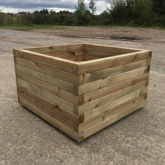 High Quality Tanalised Pressure Treated Square Planter - EXTRA LARGE PLUS - HALF PRICE SALE !!!