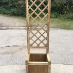 Kelso Planter with Trellis - Half Price Sale !!! - 2 PACK