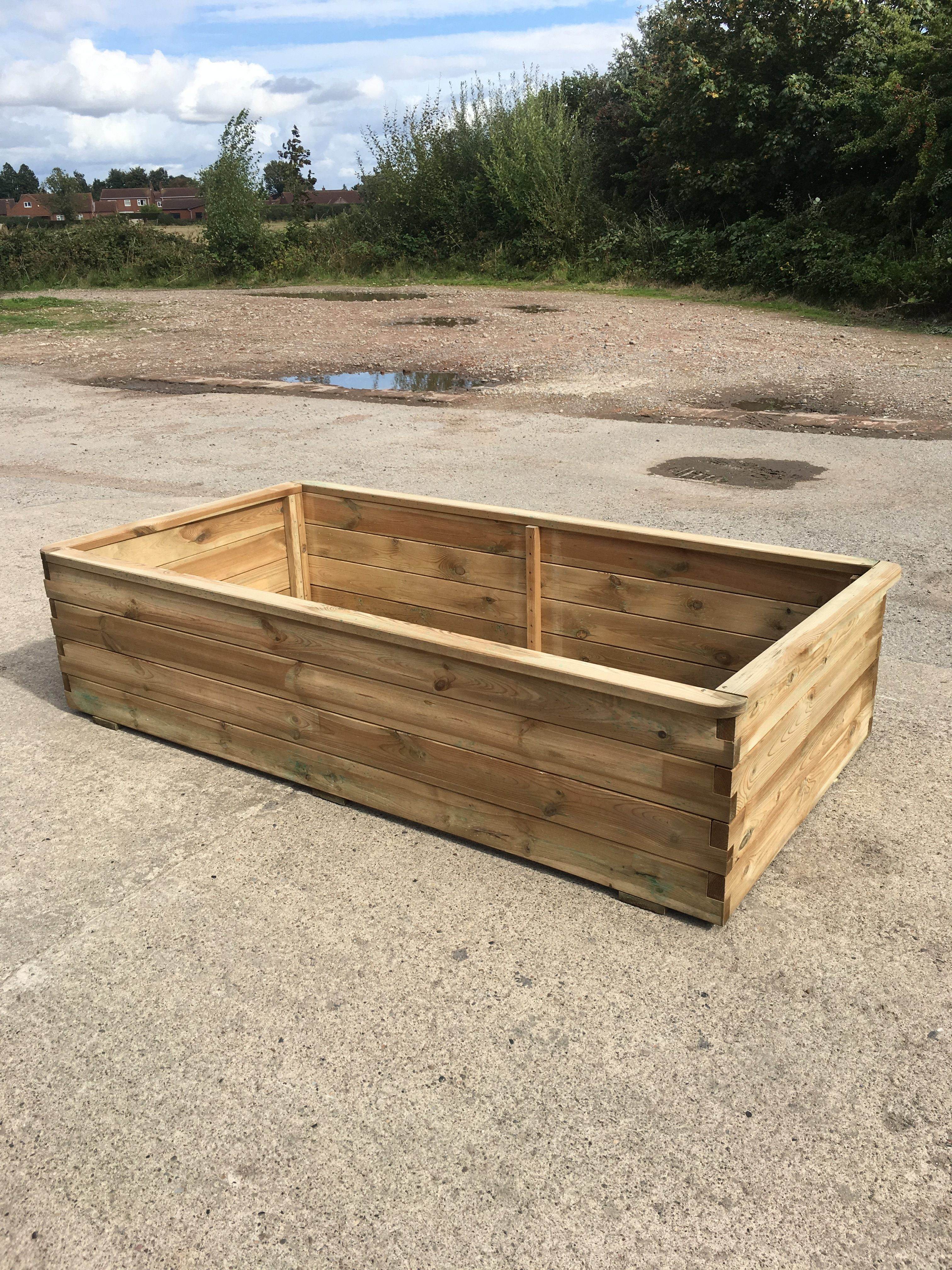 quality wooden planters with Peebles Raised Bed Planter on Repurposed Pallet Wood Planter in addition Cats Eye Wind Spinner besides 30 Unique Hanging Planters To Help You Go Green moreover Alfa Customised Wardrobe furthermore Avon 6 X 8 Double Door Shiplap Apex Shed.