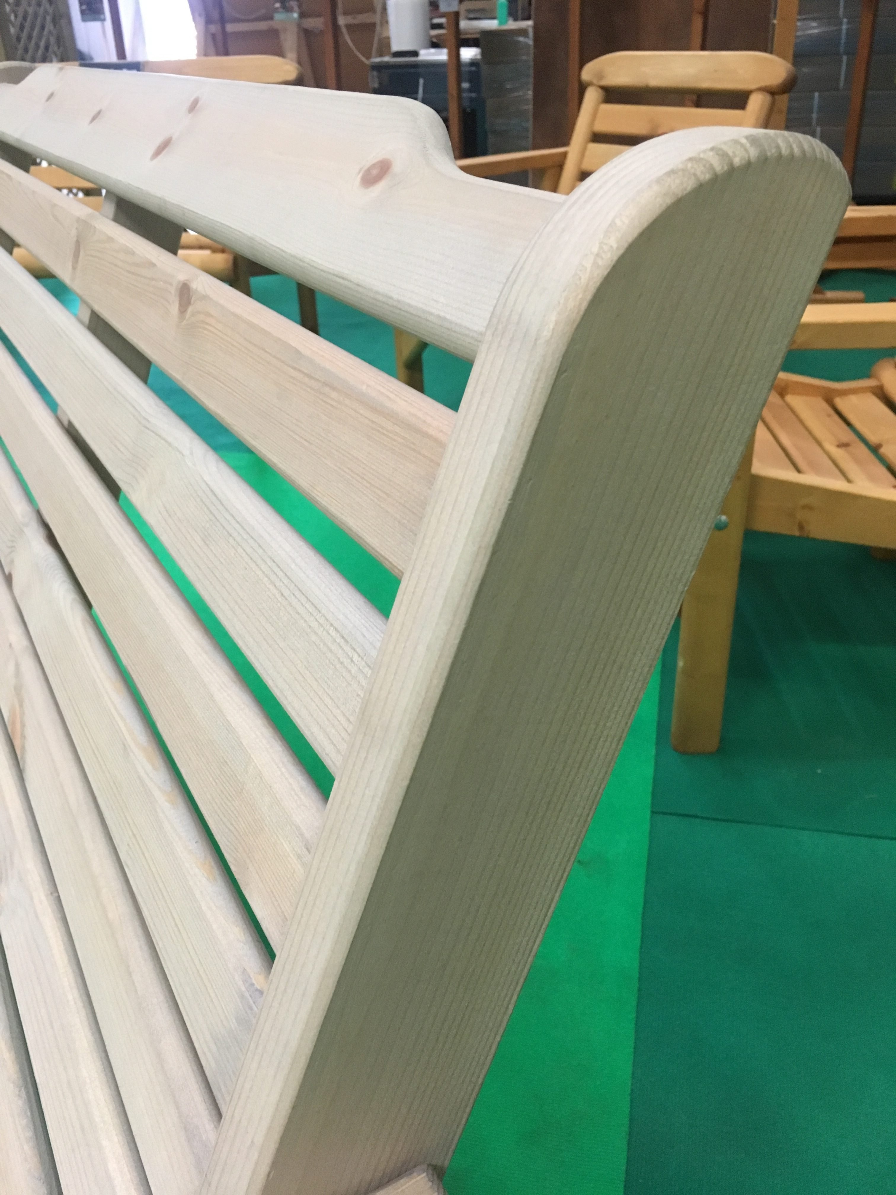 Anchor Fast Padstow 3 Seater Bench Simply Wood