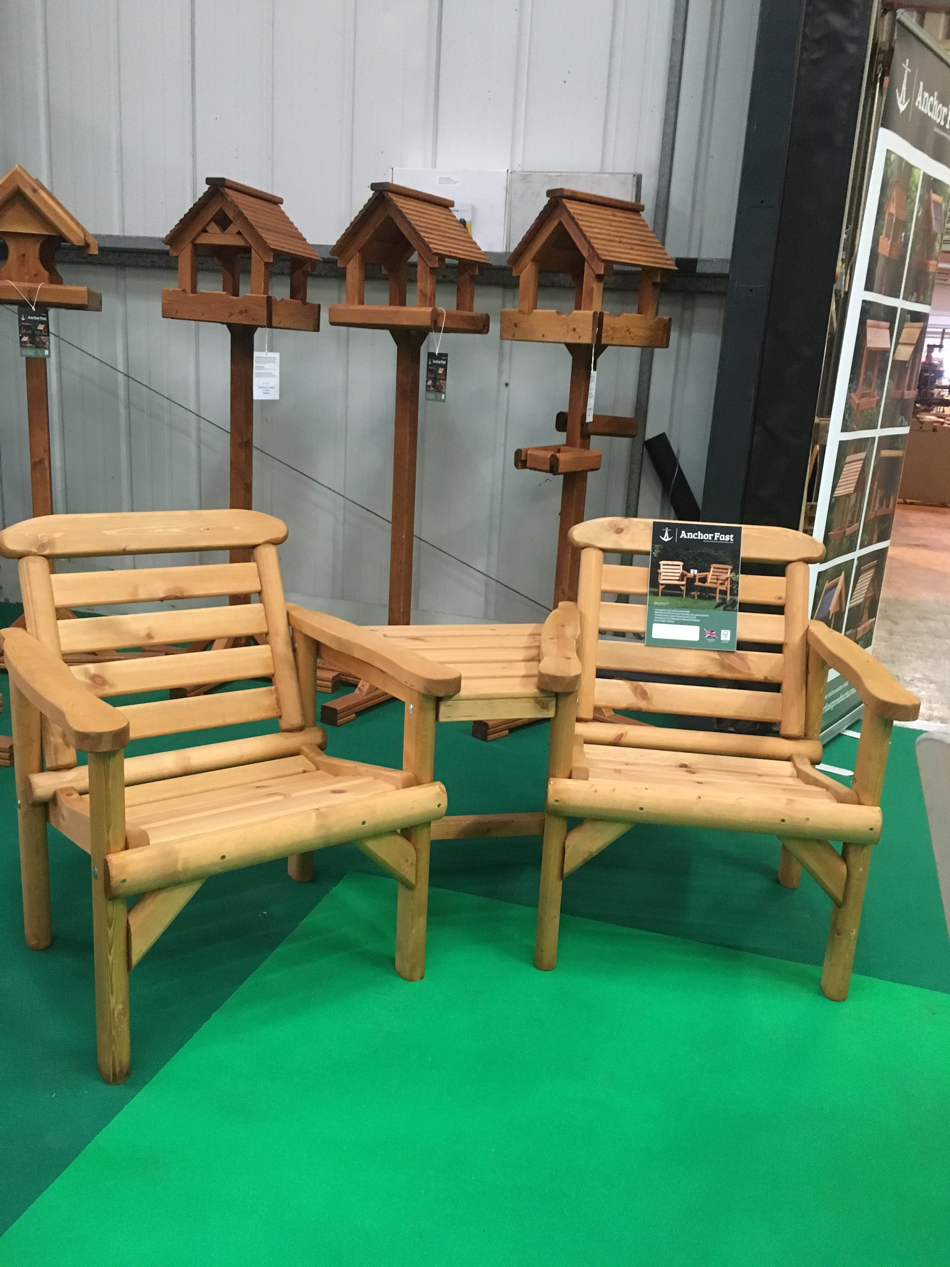 Anchor Fast Rustic Alcove Seat Simply Wood