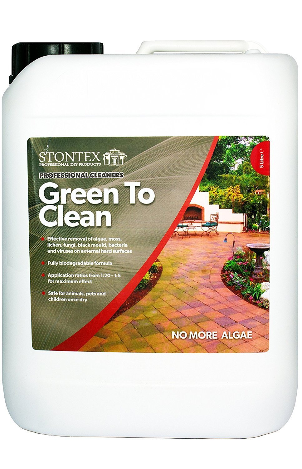 Stontex Green To Clean – Patio/Drive/Garden Furniture Professional Cleaner
