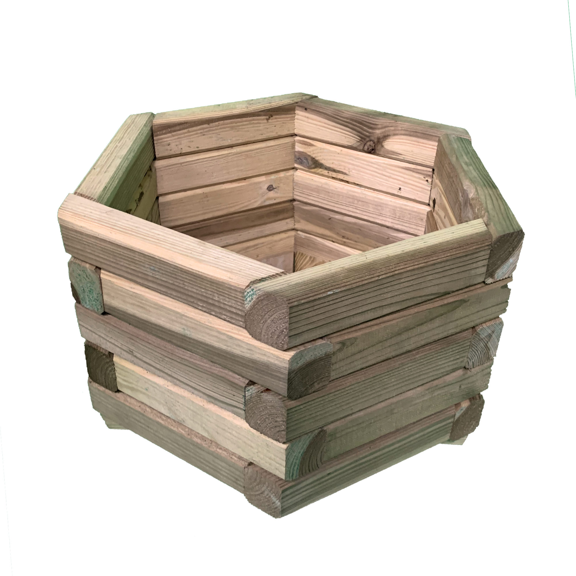 EXTRA LARGE PLUS Simply Wood Tanalised Pressure Treated Trough Planter