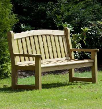 Woodshaw Appleton 3 Seater Bench - Simply Wood