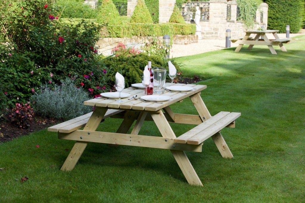 Woodshaw Appleton Picnic Bench 1 3m Simply Wood