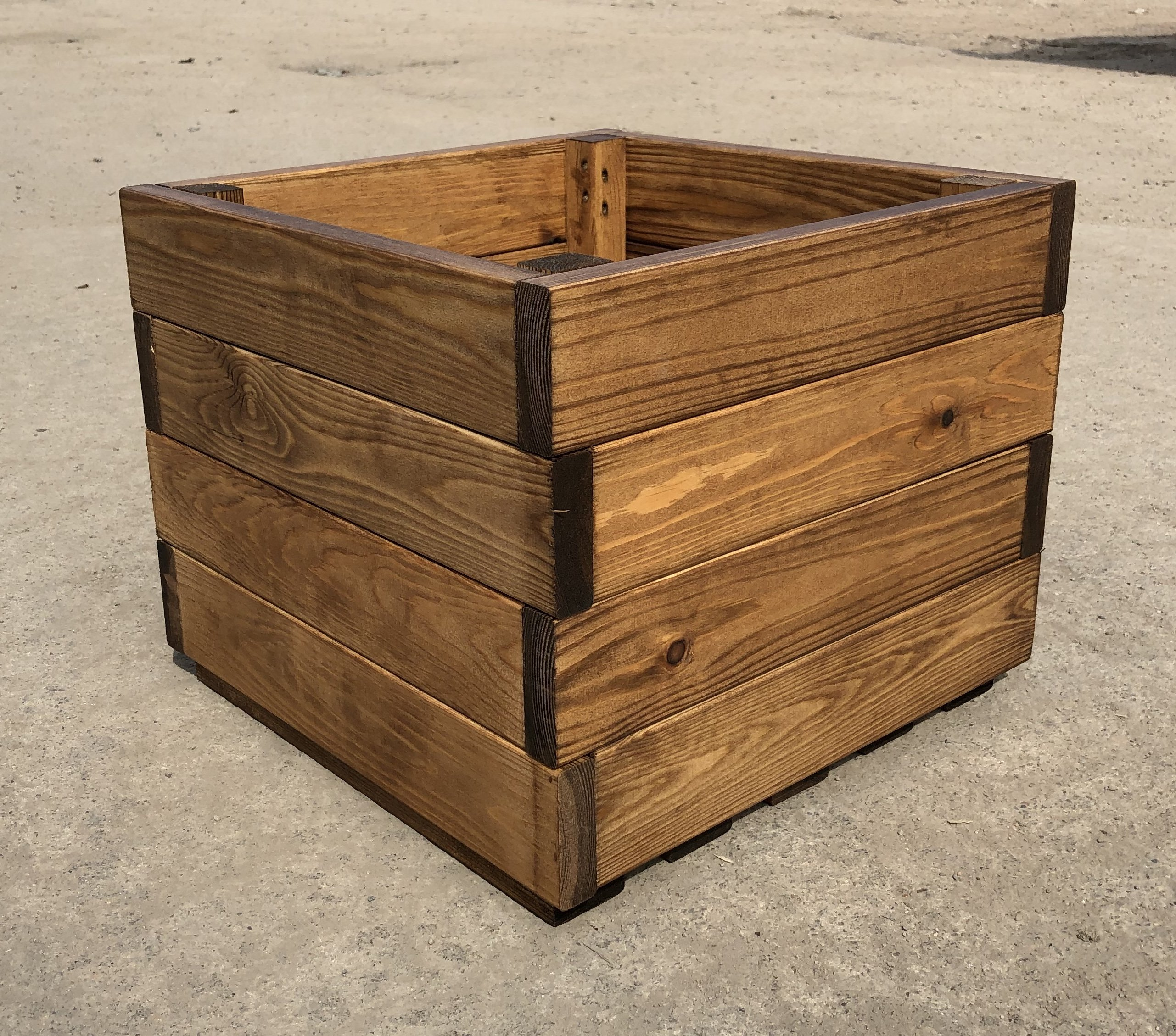 Premium Square Wooden Garden Planter Large Sale