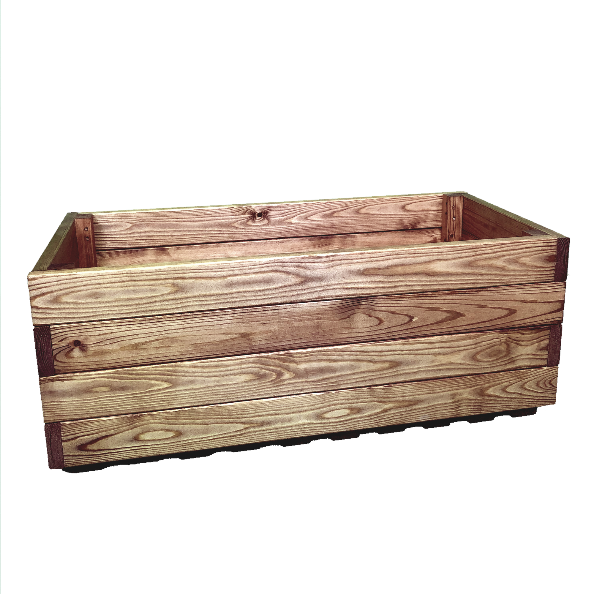 Simply Wood Premium Trough Wooden Garden Planter Extra