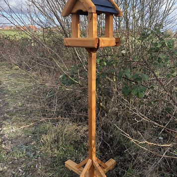 Baby Claymore Bird Table - Slate Effect Roof