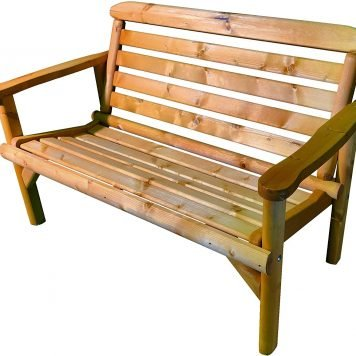 Simply Wood Ceremony Wooden Garden Bench